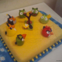 angry birds torta